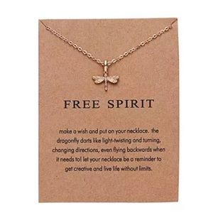 NEW!! 🦋 Free Spirit Butterfly Pendant Necklace